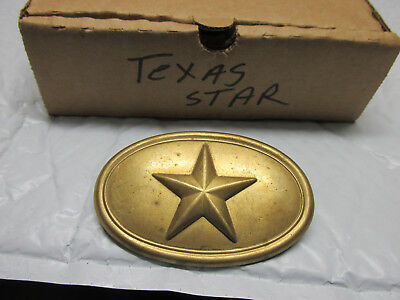 [TS]  reproduction light weighted civil war Texas Star box plate