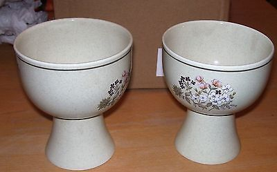 2 Royal Doulton Lambethware Footed Bowls Goblets Price drop JUly only