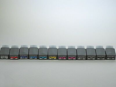 Full set of EMPTY Canon OEM ink cartridges for Canon Pro-1000