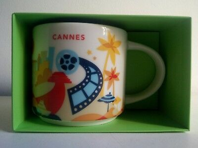 MUG STARBUCKS CANNES - YOU ARE HERE COLLECTION - Neuf -