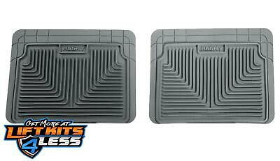 Husky Liner 52022 Grey HD 2nd Or 3rd Seat Floor Mats for 87-12 GM 2WD/4WD