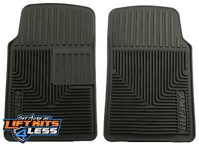 Husky Liner 51061 Blk Heavy Duty Frnt Floor Mats for 80-91 Acura Integra/NSX/SLX