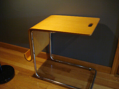 Mid Century Bent Wood Magazine Rack Desk Danish Modern Birch Eames Era