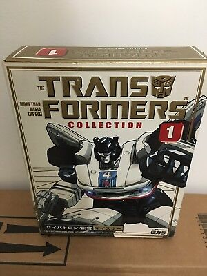 G1 Transformers Takara book collection 1 Jazz reissue BNIB