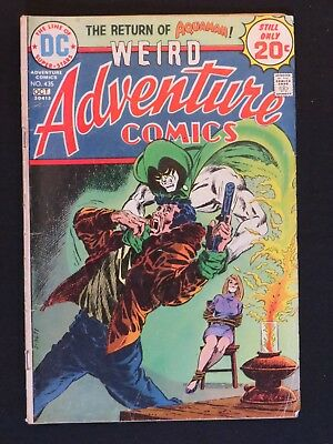 DC Comics Weird Adventure Comics The Return of Aquaman 1974 Fleisher Aparo