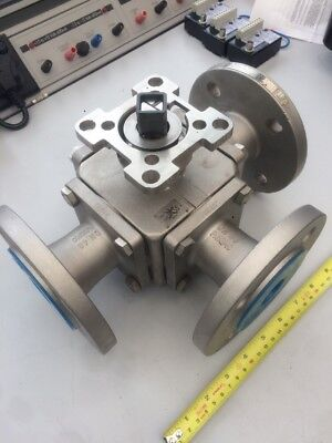 Mars series 33 33-6TT  DN40 PN10/40  3 way flanged valve 1 1/2""