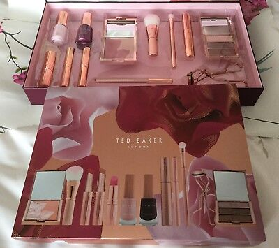 9024bd98f35c3 TED BAKER ~ Ted s Bouquet Cosmetic Collection Make Up Set Gorgeous Xmas  Gift NEW