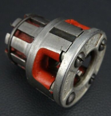 "Ridgid 00-R 1/2"" Pipe Thread Threader Die Head Made in USA Excellent Condition!"