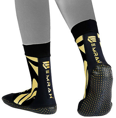 EMRAH MMA Grip Training Fight Socks Boxing Foot Braces Ankle Shoes Guard Pad B