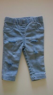 baby unisex ripped skinny  jeans 0-3 months