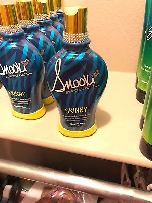 SNOOKI~SKINNY~DARK BLACK BRONZE~FIRMING~INDOOR~TANNING BED~LOTION~SUPRE~Sun~Tan