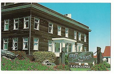THE GREY WHALE INN Bed Breakfast Mendocino Coast FORT BRAGG CALIFORNIA Postcard