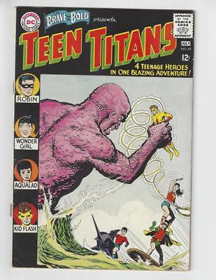 The Brave and the Bold #60/1st Wonder Girl/Teen Titans/VG-FN
