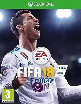 Fifa 18 (Xbox One) Mint Same Day Dispatch 1st Class Delivery Fast & Free