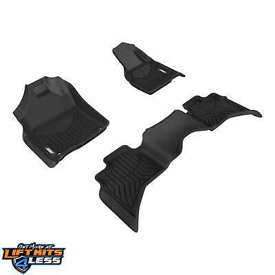 Aries 2808709 StyleGuard XD floor liners for 2009-18 Dodge/Ram 1500 Extended Cab