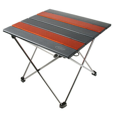 Portable Folding Aluminum Table Outdoor Picnic Party Dining Camping Desk Top EJ3