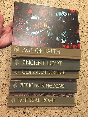 Time Life Books Inc. Great Ages Of Man. 5 Vol. Set 1965-72
