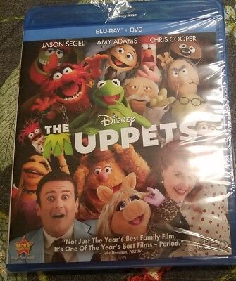 The Muppets FACTORY SEALED(Blu-ray/DVD, 2012)