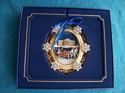 2004 White House Historical Association Christmas Ornament