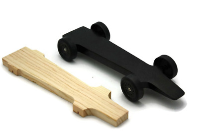 Winning Rail Riding Rider Pinewood Derby Car - Mongoose Customize to your Rules