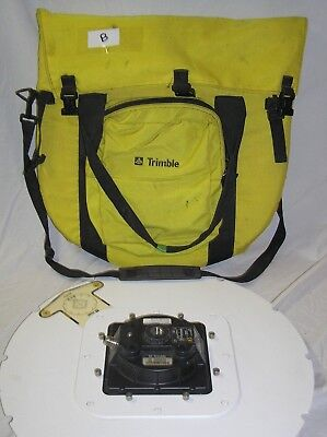 TRIMBLE MICRO CENTERED Geodetic L1/L2 GPS Antenna W Ground Plane +  Protective Ca