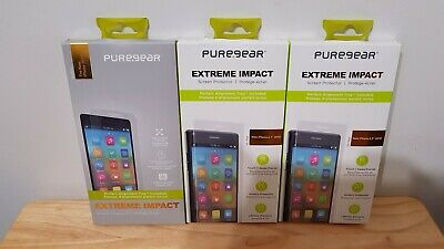 huge discount aaa20 da29f PUREGEAR EXTREME IMPACT Screen Protector for iPhone X Series, S9, Note 9, &  More