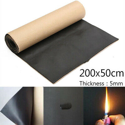 Car Sound Proofing Deadening Insulation Closed Cell Foam Noise 1Roll 200*50cm