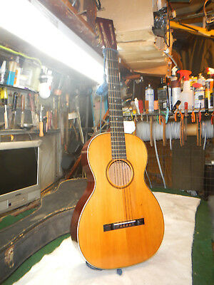 Vintage 1900's 20th Century  Acoustic Parlor Guitar - Luthier Project