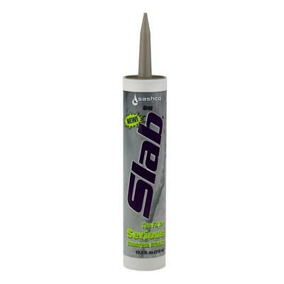 Sashco 16210 Slab Concrete Crack Repair Sealant, 10.5 oz Cartridge, Gray (Pack
