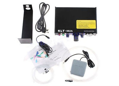 220V KLT-982A Auto&Manual Solder Paste Glue Dropper Liquid Dispenser Controller