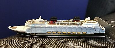 Disney Cruise Line DCL FANTASY SHIP Christmas Ornament New with Tags
