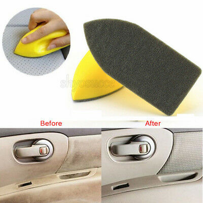 Nano Cleaning Brush Car Felt Washing Tool for Car Interior Leather Seat Brush