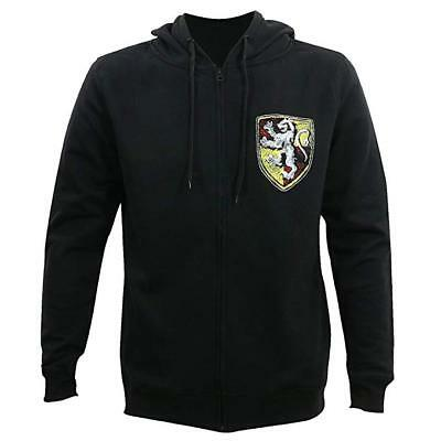 *NEW* Harry Potter: Gryffindor House Shield Zip Up Large (L) Hoodie by Bioworld