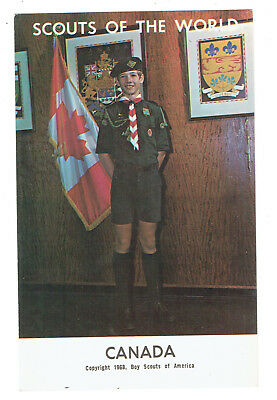 Canada Scouts of the World series cc 1968 Boy Scouts of America