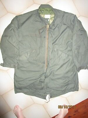 New Unused M65 Fishtail Parka,original Usa Medium  With Liner,no Hood,