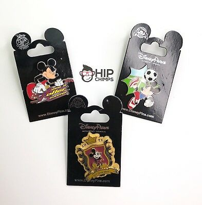 Mickey Mouse Authentic Disney Trading Pin Lot