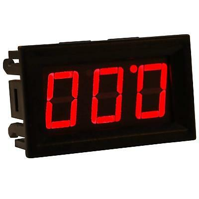 Digital Voltmeter DC 0.00-30.0V 3-Wire Design with Reverse Polarity Protection