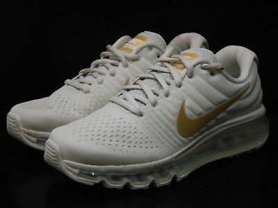 Details about Nike Air Max 2017 GS Running Trainers Shoes 851622 008 Light BoneGold