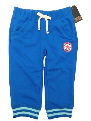 CONVERSE girls JOG PANTS Trousers JOGS with Chuck All Star logo 6/7Y BNWT