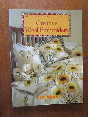 Creative Wool Embroidery By Joan Watters. Beautiful Items To Sew.