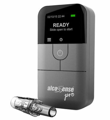 AlcoSense Pro Fuel Cell Breathalyser UK Europe World Professional Breathalyzer