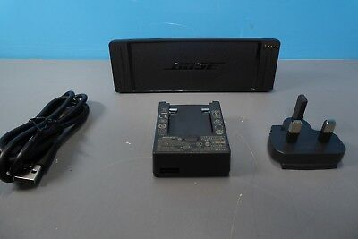 Bose Soundlink II Charging Pad + Plugs Black Grade B (CR40)
