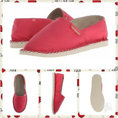 ec51c21a1b68 Havaianas Women s Origine Ii Espadrille Flat Ruby Red 39 BR 9M US NEW WITH  TAGS