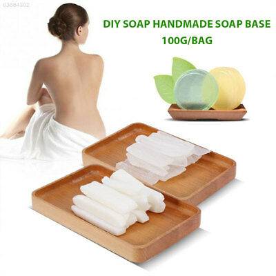 06A0 Saft Handmade Soap Base 100g Transparent Clear Raw Materials