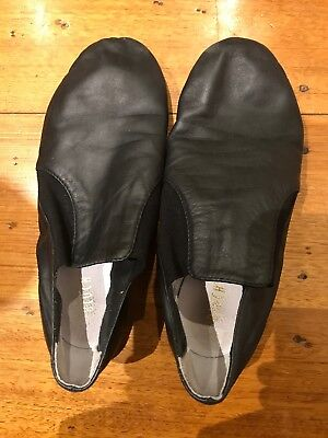 Bloch Girls Black Jazz Shoes - Size 5 and a half