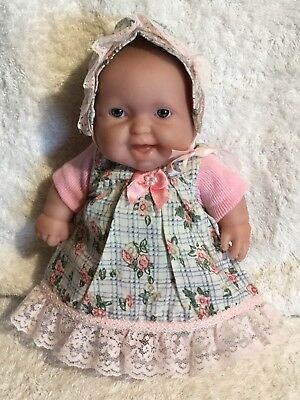 BERENGUER Soft Vinyl Baby Doll 21cm Tall Excellent Condition New Clothes