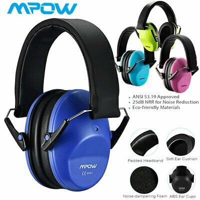 Mpow Kids Ear Protection Safety Ear Muffs Defenders,Professional Noise Reduction