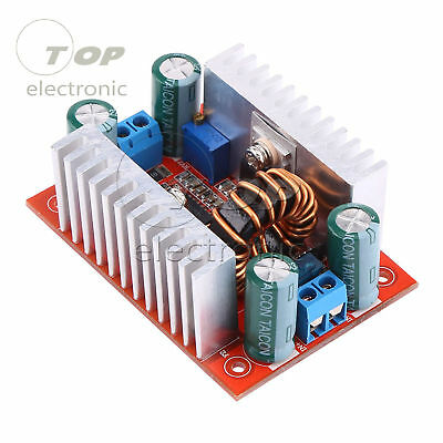 400W 15A DC Step-up Boost Converter Constant Current Power Supply LED Driver