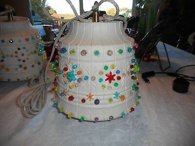 Retro Hanging Light Made By Lawnware USA Works