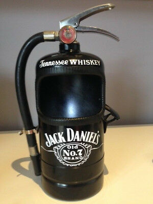 JACK DANIELS Fire Extinguisher ASH TRAY or BOTTLE TOP CONTAINER with  Opener